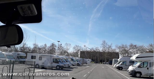 Área de autocaravanas de Vitoria - Gasteiz | caravaneros.com