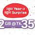 airtel 2GB Internet 35 TK Happy New Year 2018 Offer!