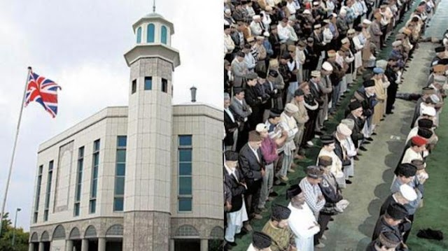 Wajah Gres Inggris! Kian Islami, Masjid-Masjid Penuh Sesak Dengan Jamaah