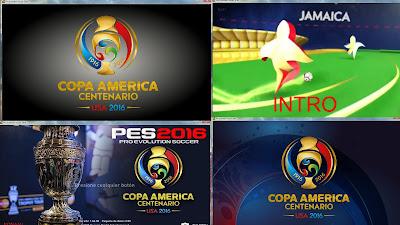 PES 2016 COPA AMERICA CENTENARIO Scoreboard and Mod by Jesus Hrs