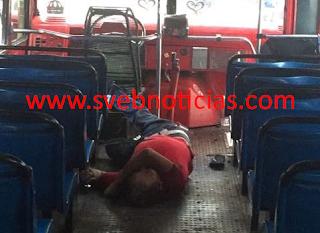 Ejecutan a hombre dentro de camión urbano en Acapulco Guerrero