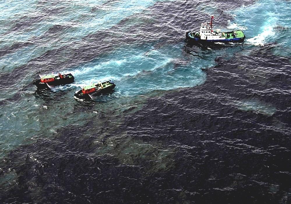 Oil Spill - Water Pollution Oil Spills
