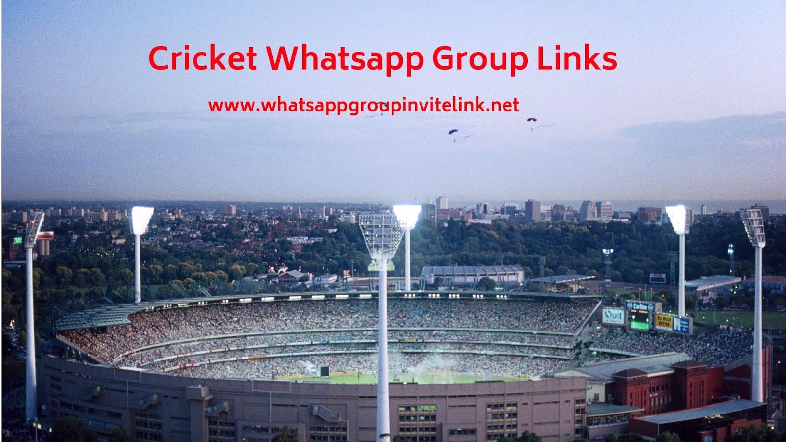 Whatsapp Group Invite Links: Cricket Whatsapp Group Links