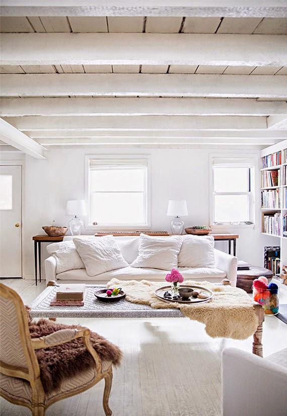 Todos los lados de un salón { Every corner of a living room }