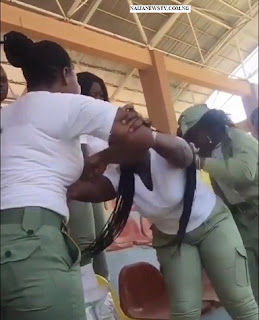 Two Female Corps Members Fights Dirty Over Seniority in Ekiti State