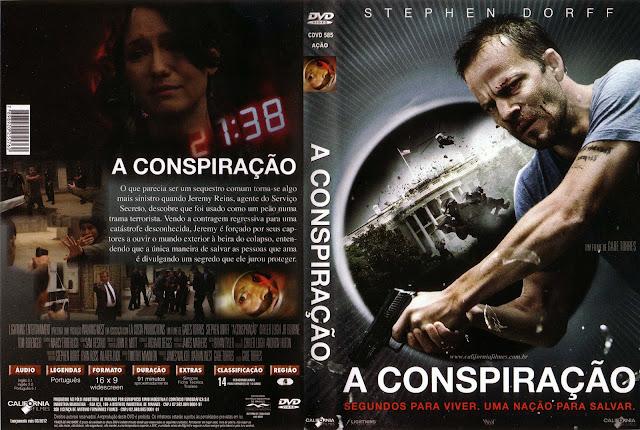 Capa DVD A Conspiração