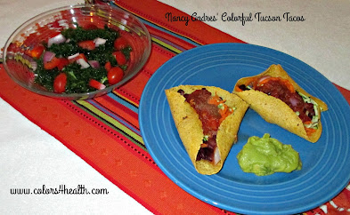 Vegan Taco and Salsa Recipes at Colors 4 Health
