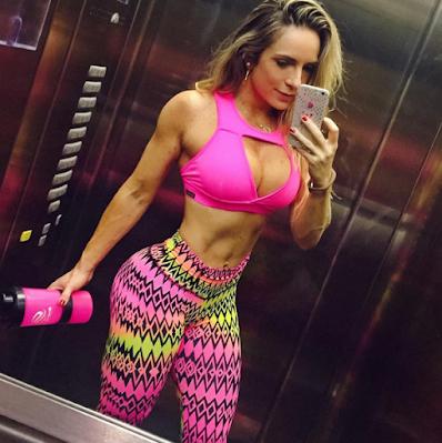 Janaína Motta fitness no Instagram