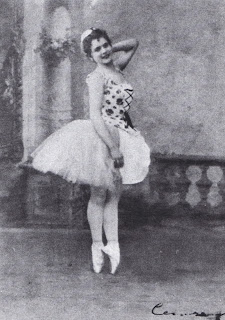 Legnani in the Cinderella role that would make her famous