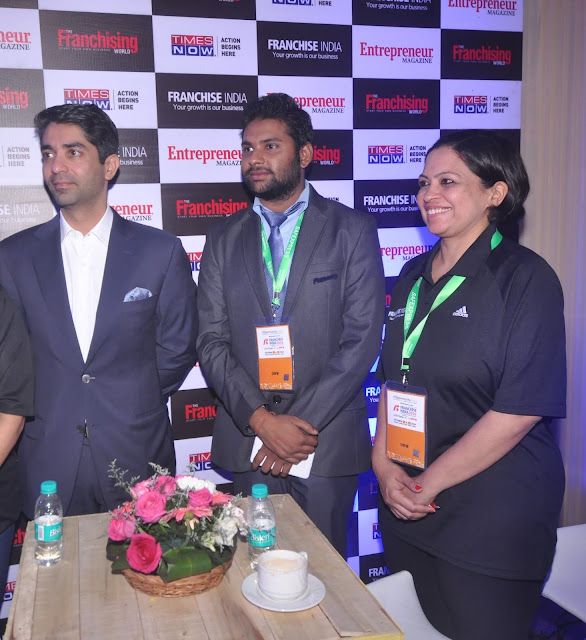 Abhinav Bindra at the Franchise India Launch event