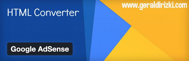 html converter untuk blogger