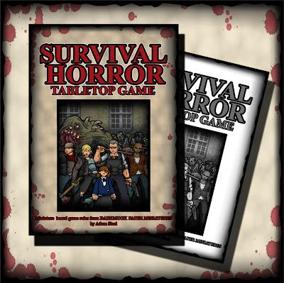 Adam Steel-Survival Horror Tabletop Game