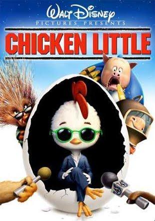 Chicken Little 2005 BRRip 720p Dual Audio In Hindi English