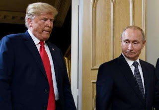 Putin, in New Year letter to Trump, says Moscow is open for dialogue