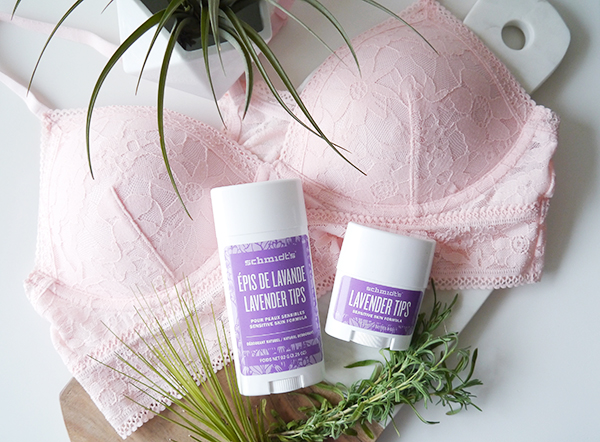 Schmidt's Natural Deodorant Lavender Tips Sensitive Skin Formula