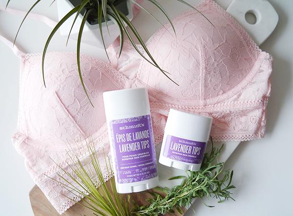 Schmidt's Natural Deodorant Lavender Tips Sensitive Skin Formula
