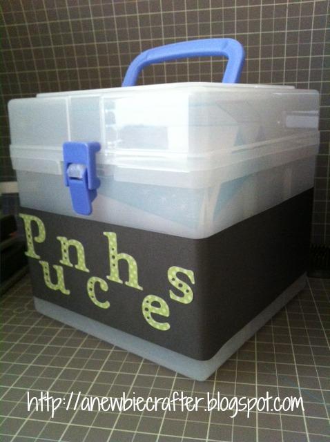Craft Punch Storage