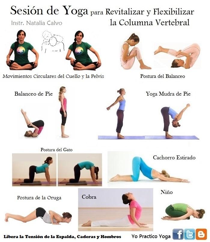 Yo Practico Yoga Yoga Para Revitalizar Y Flexibilizar La Columna Vertebral