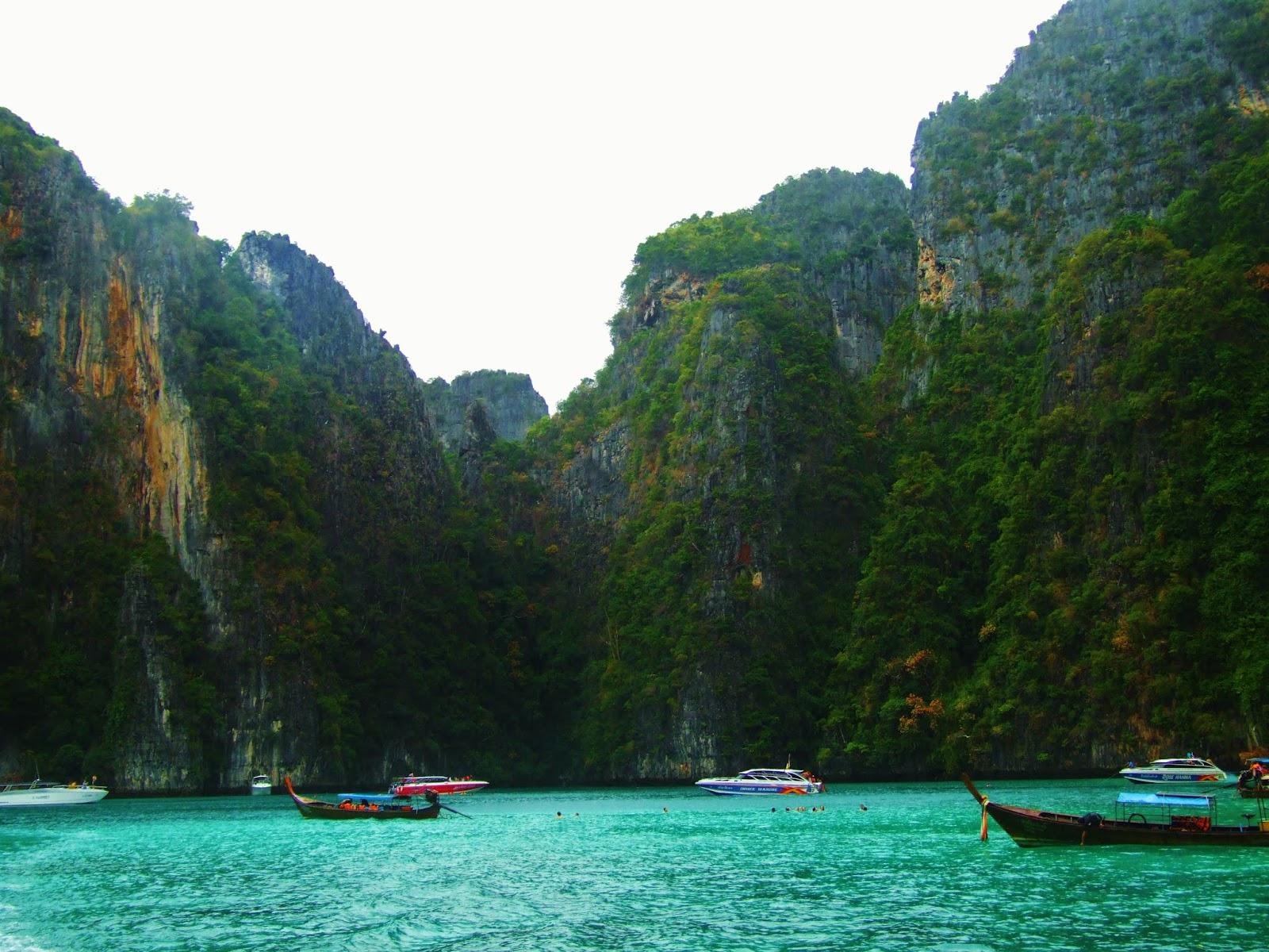 Phi Phi is stunning