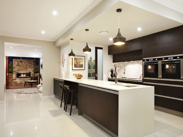 Contemporary and functional beautiful kitchen designs Contemporary and functional beautiful kitchen designs modern galley kitchen designs 1004586327