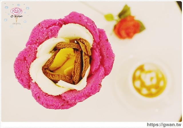 O Rose法式冰淇淋,捷運美食,捷運藍線美食,花朵冰淇淋,玫瑰花冰淇淋,少女甜點,夢幻甜點,手工冰淇淋,甜點下午茶,玫瑰花瓣,法國主廚-22