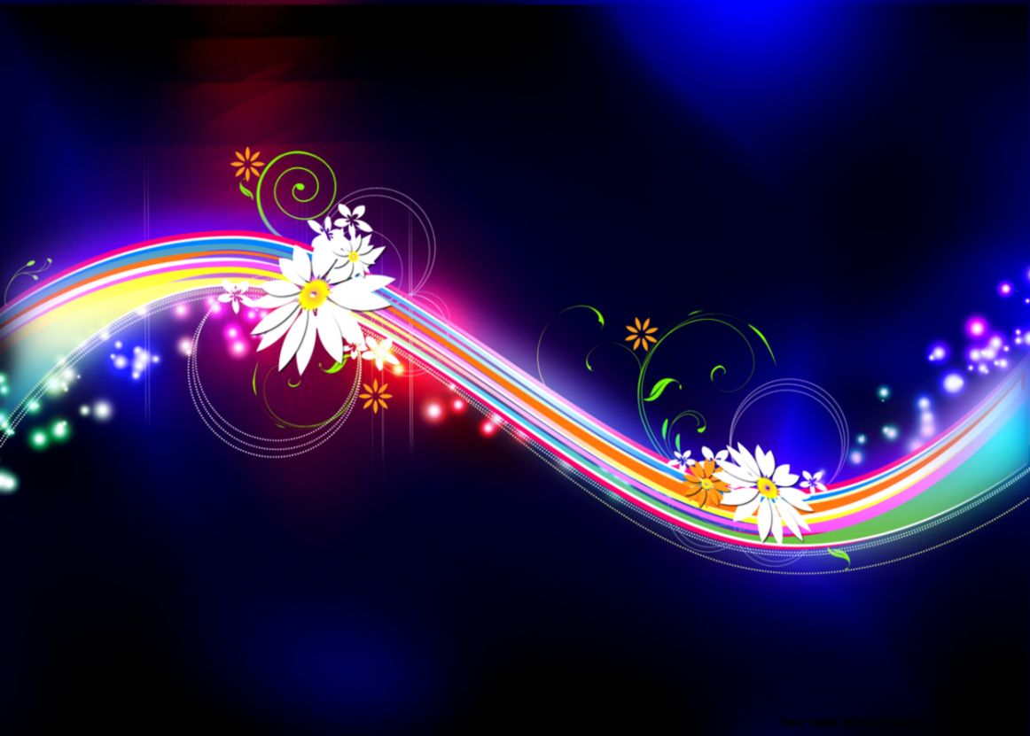 Flower Graphics Design Wallpaper Wide | Free High Definition Wallpapers