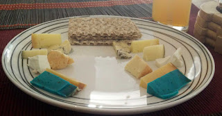 Multi-cultural cheese board