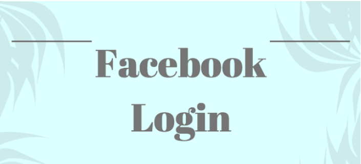 Facebook Login Sign In Homepage