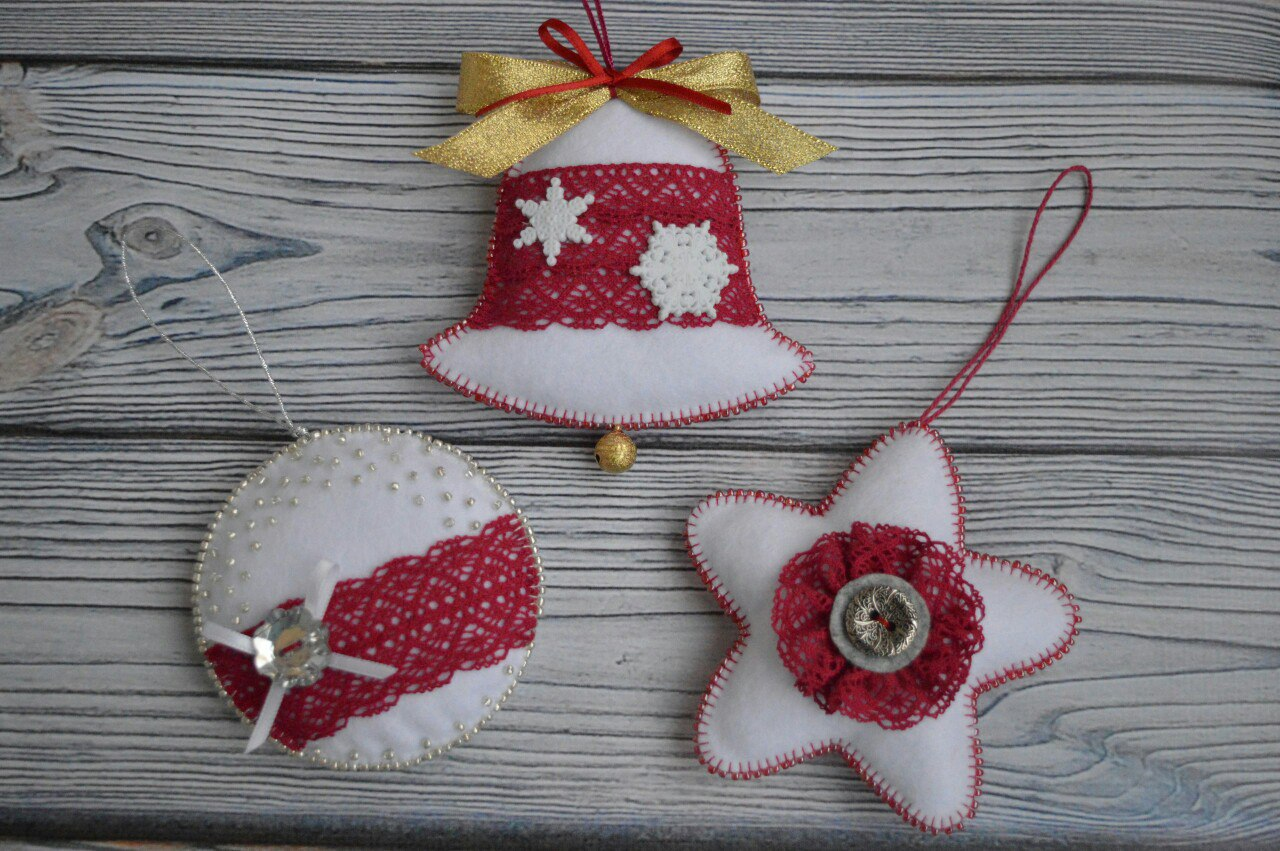 Armario Juvenil Esquinero ~ Ideias para decoraç u00e3o de natal com feltro Como Fazer
