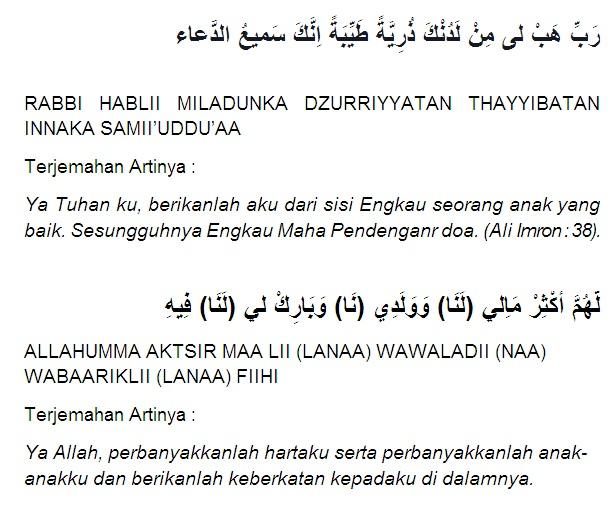 5 Doa dan Amalan Agar Cepat Hamil Menurut Islam Mustajab