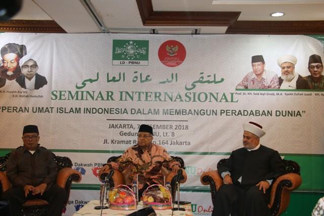 Ulama Lebanon Berharap Peradaban di Indonesia Jadi Percontohan di Dunia