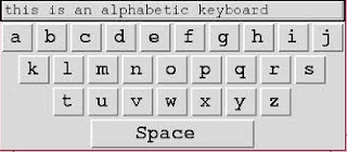 Keyboard Alphabetic