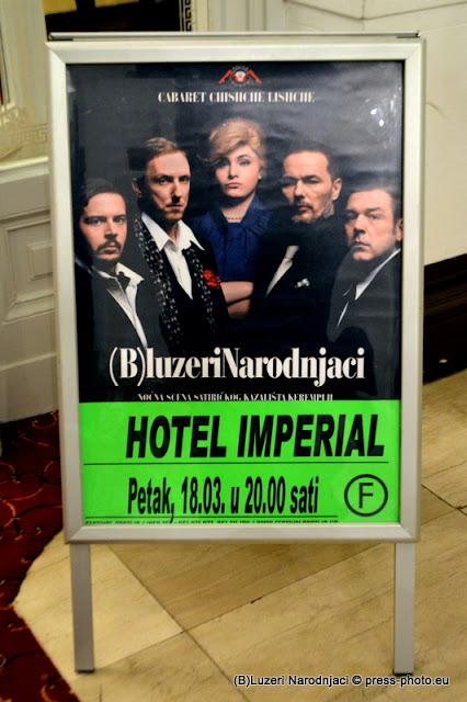 Satirični show (B)luzeri narodnjaci Cabaret Chishche Lishche @ Opatija, Hotel Imperijal ,18.03.2016