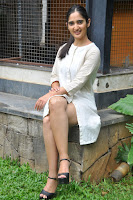 Radhika Cute Young New Actress in White Long Transparent Kurta ~  Exclusive Celebrities Galleries 044.JPG