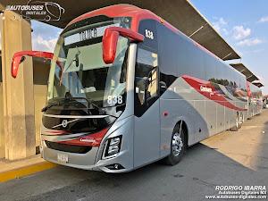 Turismos y Autobuses México Toluca Triángulo Flecha: Caminante Plus. Volvo 9800