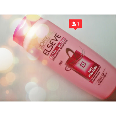 Loreal Elseve Nutri Gloss Şampuan