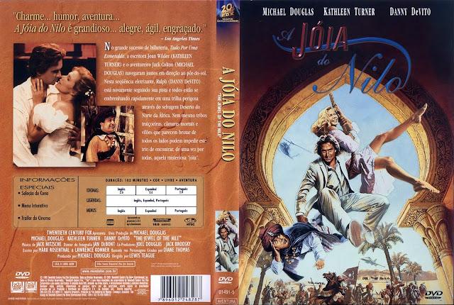 Capa DVD A Jóia do Nilo