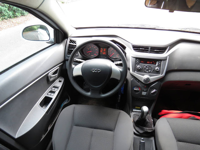 Chery Celer Hatch 2015 - interior