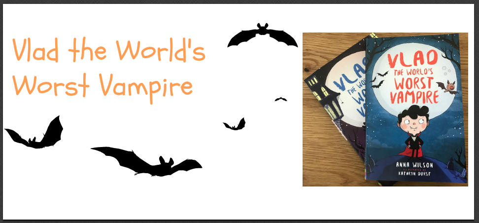 Vlad and the words\'s worst vampire - Read me a book