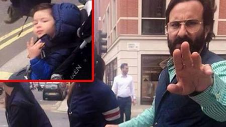 London में छुट्टियां मना रहे Saif Ali Khan एक फोटो खींचने पर भड़के
