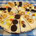 Pizza Brownie de chocolate-ideal para fiestas infantiles