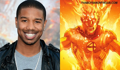 Chronicle Actor Michael B Jordan will portray Fantastic Four Johnny Storm Human Torch 2015