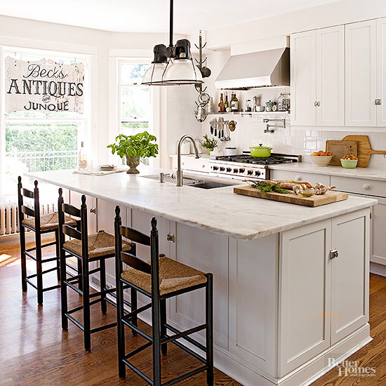 Kitchen Color Trends 2016 Paint Colors With Maple Cabinets: The Country Farm Home: Farmhouse Kitchen Color Trends For 2016