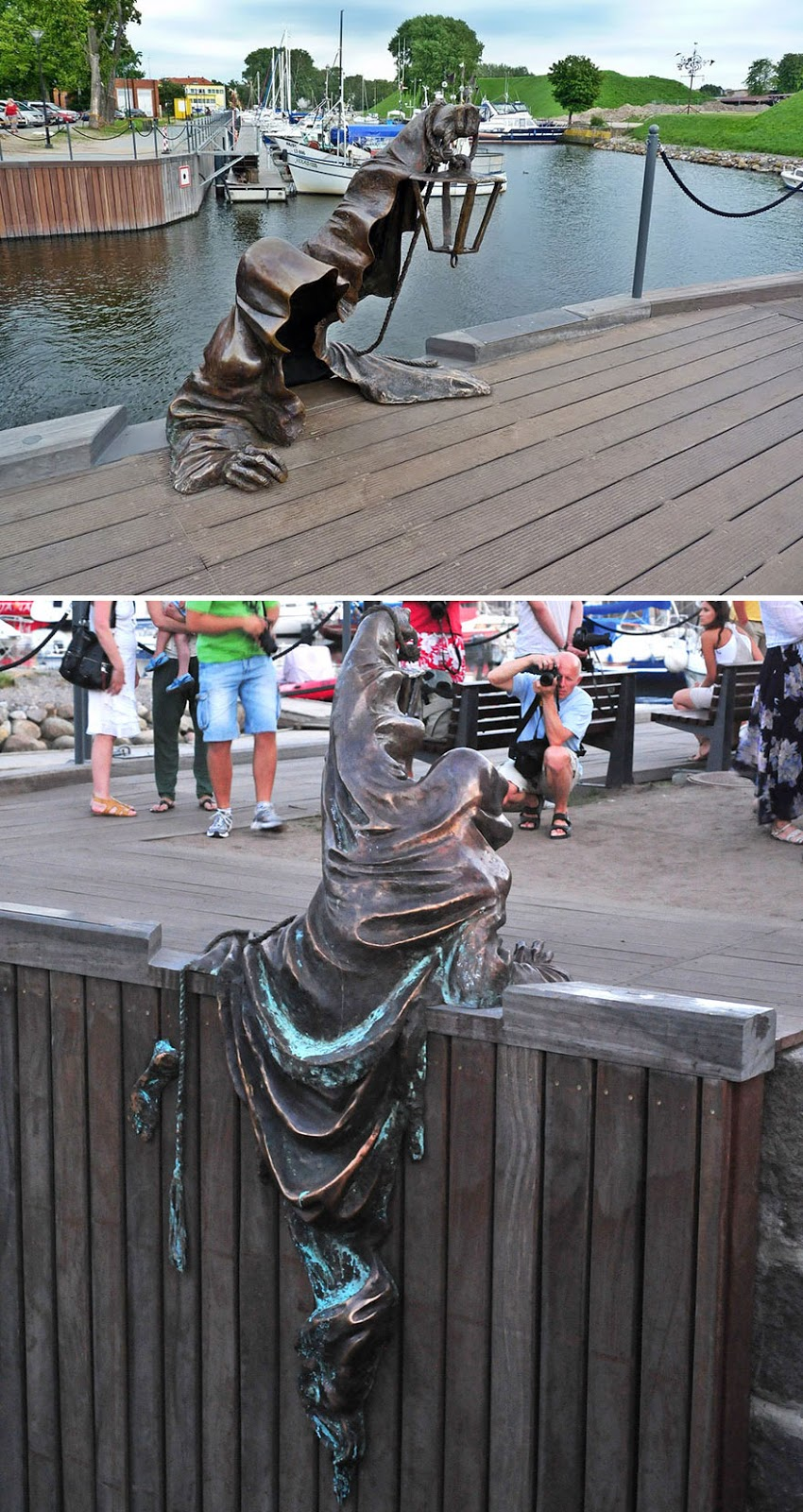 42 Of The Most Beautiful Sculptures In The World - Black Ghost, Klaipeda, Lithuania