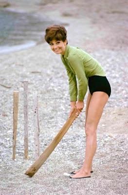 Quando Audrey Hepburn giocava a cricket