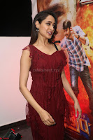 Pragya Jaiswal in Stunnign Deep neck Designer Maroon Dress at Nakshatram music launch ~ CelebesNext Celebrities Galleries 067.JPG