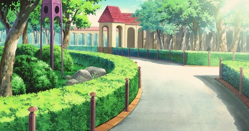 Park  Anime Background