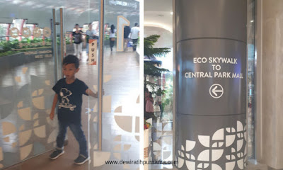 Eco Skywalk Central Park Mall - Neo Soho Jakarta