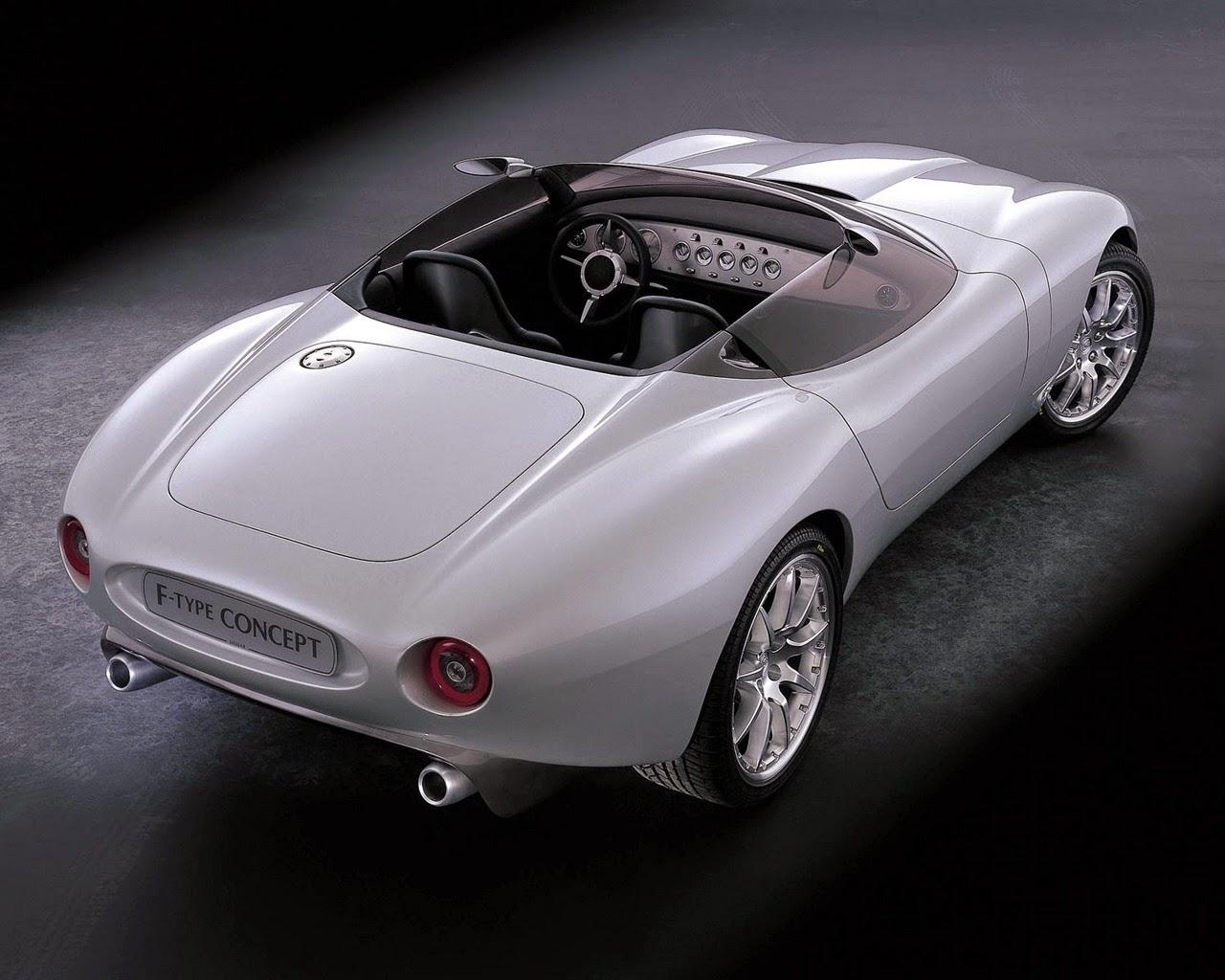 Jaguar F Type Concept Top View Wallpapers Sport Cars Hd Wallpaper