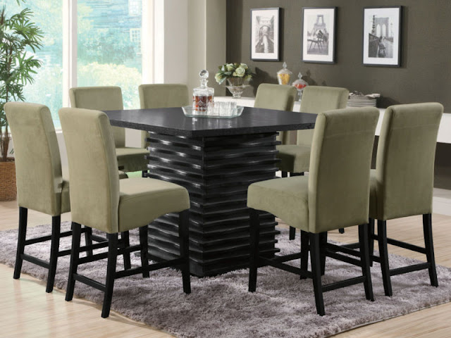 Modern Room with Round Dining Tables Modern Room with Round Dining Tables 4
